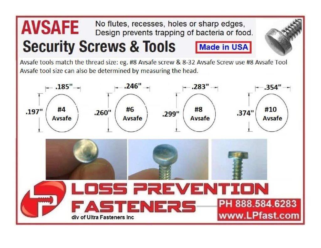 loss-prevention-fasteners-avsafe
